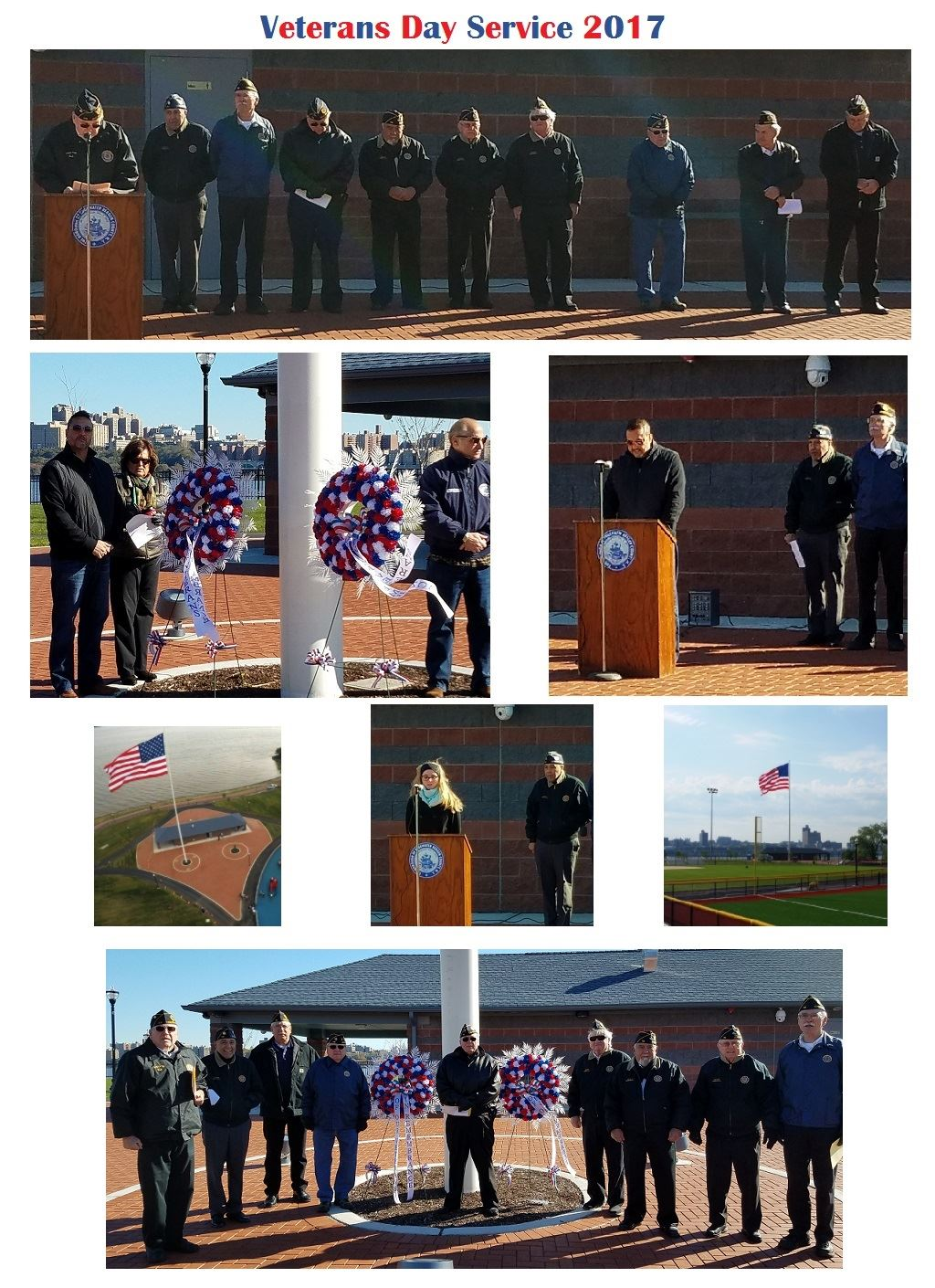 veterans day services 2017