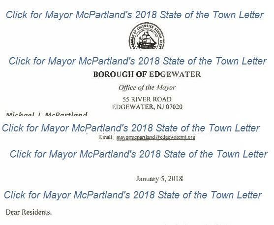 2018 State of the Town Letter