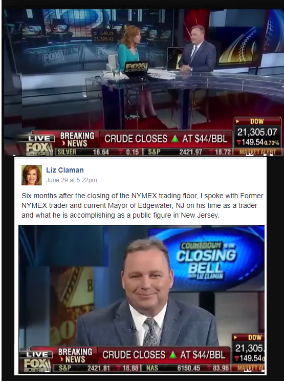 Liz Claman Interview with Mayor