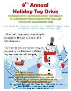 ANNUAL GIFT DRIVE sm