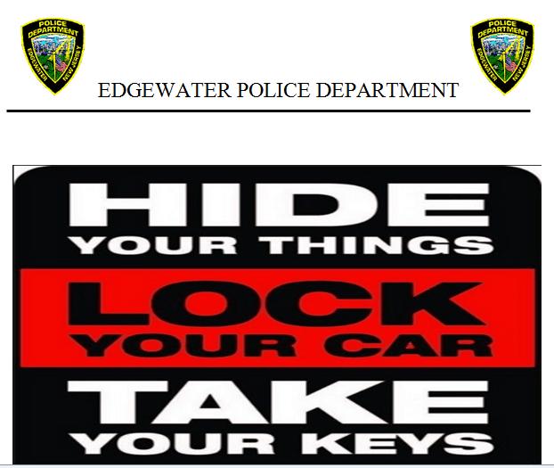 car thefts warning