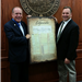 County Clerk John S Hogan and Mayor McPartland
